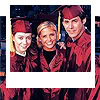 dipenates: Scoobies - graduation gowns