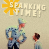 Unaccustomed as I am to pubic spanking...: misc: spankings? >:D?