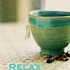 Jude: tea - relax