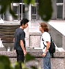 Ren et Shinji et le feuillage