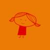 помаранчева дівчинка