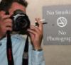 no smoking no photography