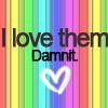 melococ0: I LOVE THEM DAMIT