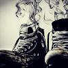 a jester: boots; smoky seven-league
