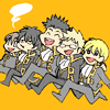 Gintama → Happy shinsengumi