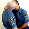 R is for Raygun: Cops kissin'