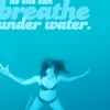 breathe underwater