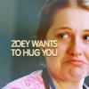 Nurse Jackie: Zoey/Hug