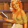 librarygirl, bookish_pinup