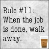 vicki_rae: NCIS - Rule #11 - When the job is done