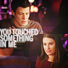 F&R [GLEE :: you touched something in me