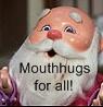 mouth hugs