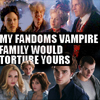 [twilight] my vampire family, [buffyverse] my vampire family