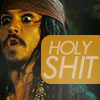 Jack Sparrow- OH SHITwas not expected