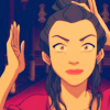 Princess Azula of the Fire Nation: tried to be perfect / crazy isn't