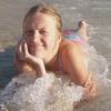 Подпираю рукой подбородок в море