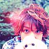 Ikuta Toma and puppy