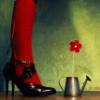 ніжки червоні