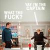 Samantha: ST: McCoy WTF Kirk Yay!