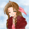 Aeris Gainsborough: Shy || Blush || Embarrassed (Smile)