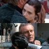 Mel: Merlin - Uther/Morgana (hug)