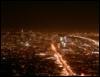 night, city, walk, san francisco, lights