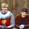 Becky: Merlin hearts Arthur