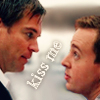 cosmic: NCIS: Tony/Tim kiss me
