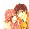 Kimi ni Todoke- Sawako and Kazehaya in w
