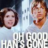 Yvonne: han is gone