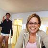 Pam & Jim in undies~