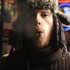 blowing), kevin devine (awesome hat