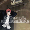 FFVII - I like to kill people
