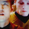 drinking rum and writing some: chekov/sulu
