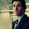 Bruce Wayne: Smirking