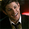 Late Night Drops of Random: Dean happy and smiling