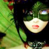 [ model: girl in green mask ]