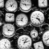 [ photo: many clocks ]
