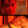 doctor/jack smiling red conversation
