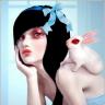 natalie shau girl with bunny