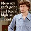 Red, High as a kite