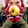 Muppet: Girl: autumn | apple
