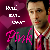 Rick - real men wear pink