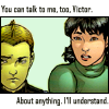 Pixie Child: marvel; New X-Men IIv13 - I'll understan
