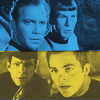 prosperity2929: Kirk/Spock//Old & New School