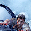 uncharted / nate clinging