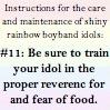 rule 11: fear food