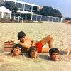 Monkees on Beach