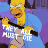 Don't cry for me. I'm already dead.: Cartoons Simpsons (everybody must die)