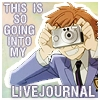 SO GOING INTO MY LIVEJOURNAL!